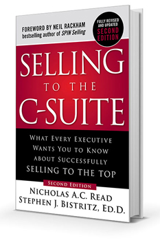 Selling to The C-Suite Book Cover